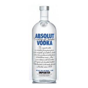 Absolut vodka - 40% 1 L