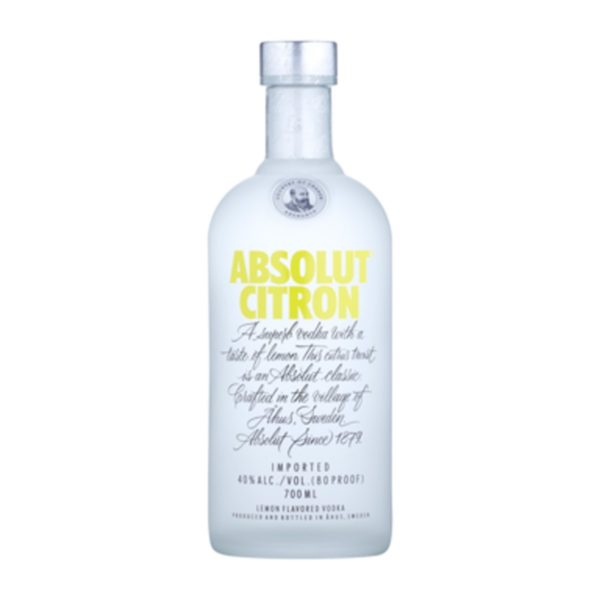 Absolut vodka Citron- 40% 0,7 L