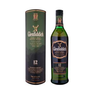 Glenfiddich Single malt 12 r. whisky - 40% 0,7 L