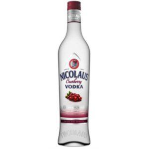 Vodka Nicolaus Extra Fine Cranberry - 38% 0,7 L