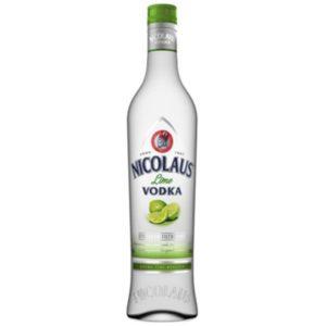 Vodka Nicolaus Extra Fine Lime -38% 0,7 L