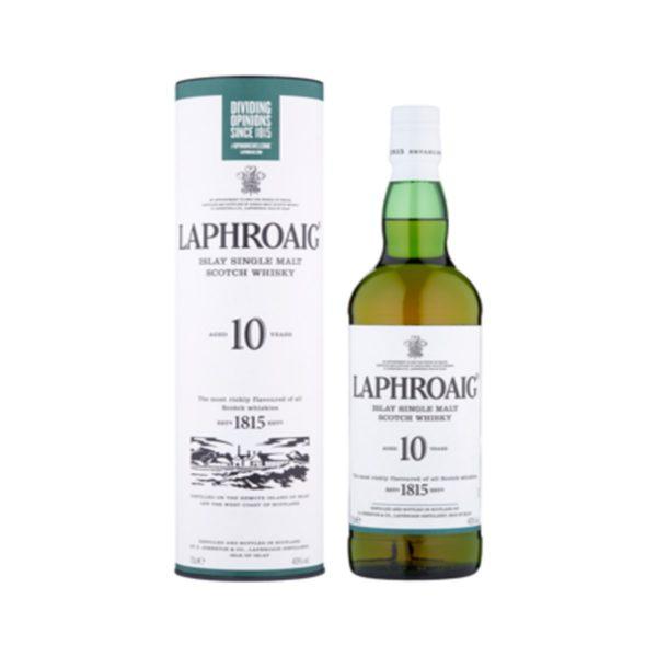 Laphroaig Single malt 10 r. whisky - 40% 0,7 L