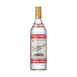 Stolichnaya vodka - 40% 1 L