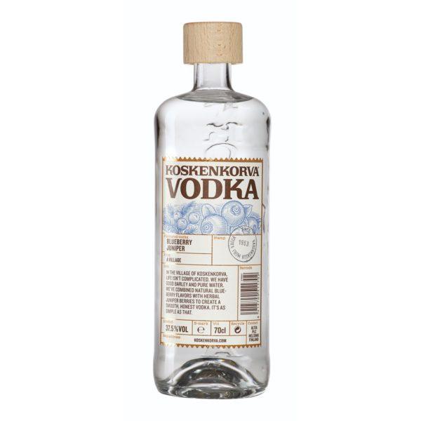 Koskenkorva Blueberry Juniper vodka - 37,5% 0,7 L