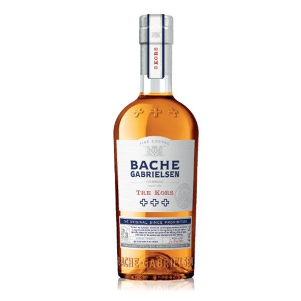 Bache Gabrielsen Tre Kors cognac - 40% 0,7 L