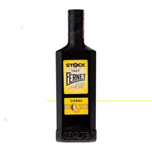 Fernet Stock Citrus - 27% 0,5 L