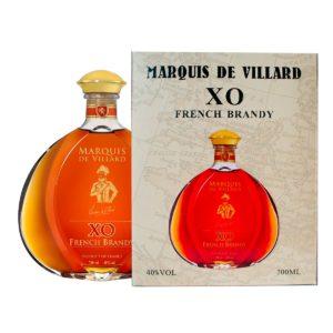 Marquis de Villard XO darč. balenie 3-roč. brandy - 40% 0,7 L