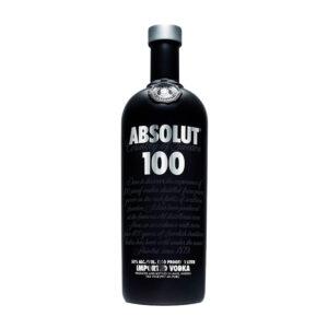 Absolut 100 vodka - 50% 1 L